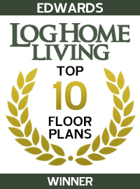 2002 Log Home Living Magazine - Winner - Edwards
