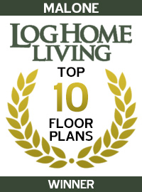 2002 Log Home Living Magazine - Winner - Malone