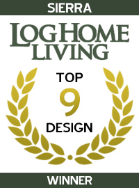 2004 Log Home Living Magazine - Winner - Sierra
