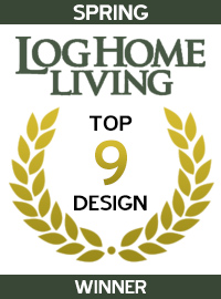 2004 Log Home Living Magazine - Winner - Spring