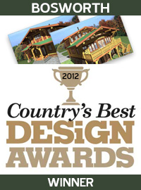 2012 Countrys Best Design Awards Winner - Bosworth