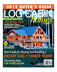 Log Cabin Homes - January 2015