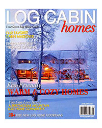 Log Cabin Homes Magazine - January 2011