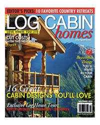 Log Cabin Homes Magazine - November 2013