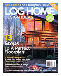 Log Home Design Ideas - May 2005