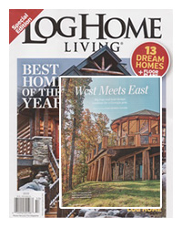 Log Home Living Magazine - August-2015 - West-meets-EastLog Home Living Magazine - August-2015 - West-meets-East