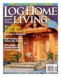 Log Home Living Magazine - January 2011