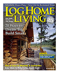 Log Home Living Magazine - July 2008