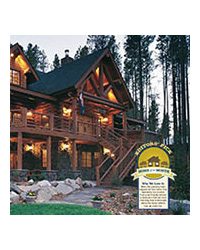 Log Home Living Magazine - June 2006