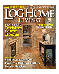 Log Home Living Magazine - March 2013
