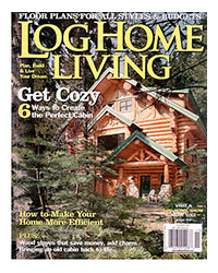 Log Home Living Magazine - November 2008