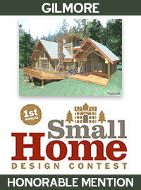 Log Home Livings 1st Annual Small Homes Design Contest