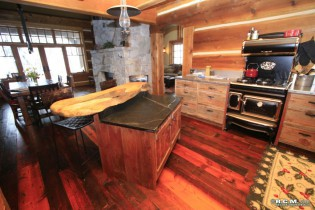 RCM Cad - Apex - Log Home Finished Project