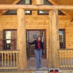 RCM Cad - Aspen Meadow Log Post Accent Current Project