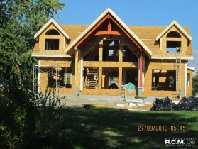 RCM Cad - Brighton Ontario Timmber Frame Current Project