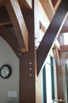 RCM Cad - Harrison Timber Frame Finished Project