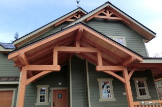 RCM Cad - Kamloops Timber Frame Finished Project