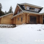 RCM Cad - Okanagan Milled Log Home Current Project