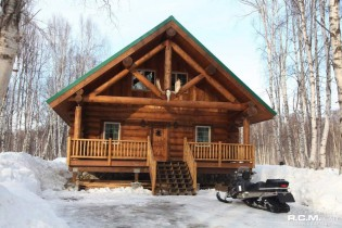 RCM Cad - Sheep Creek Cabin Alaska Finished Project