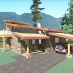 1228 sq ft – Contemporary Timber Accent