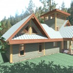 1626 sq ft – Gilmore Post and Beam