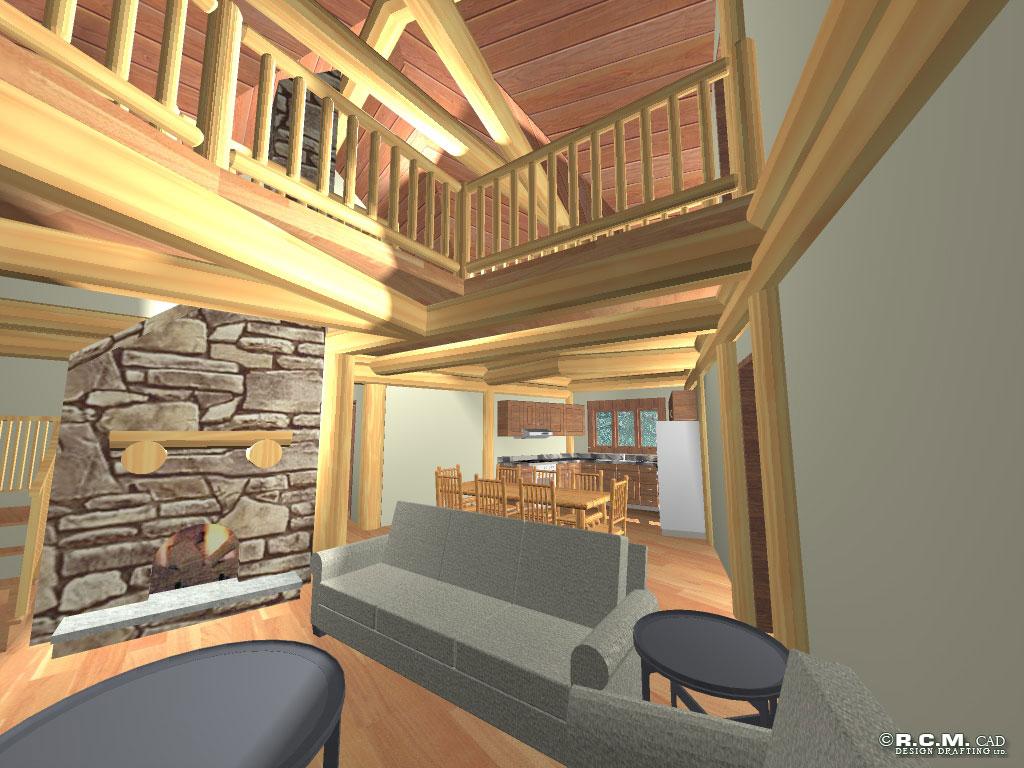 Hawk Post And Beam Rcm Cad Design Drafting Ltd: architectural design ltd