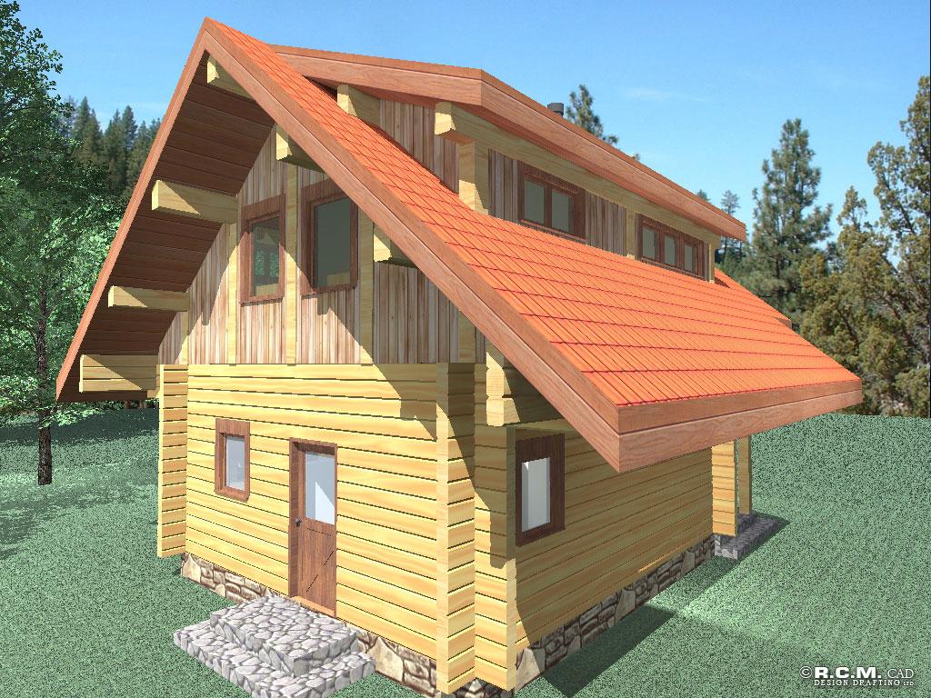Log Home 3d Design Software Log Home Cad Design Home Photo