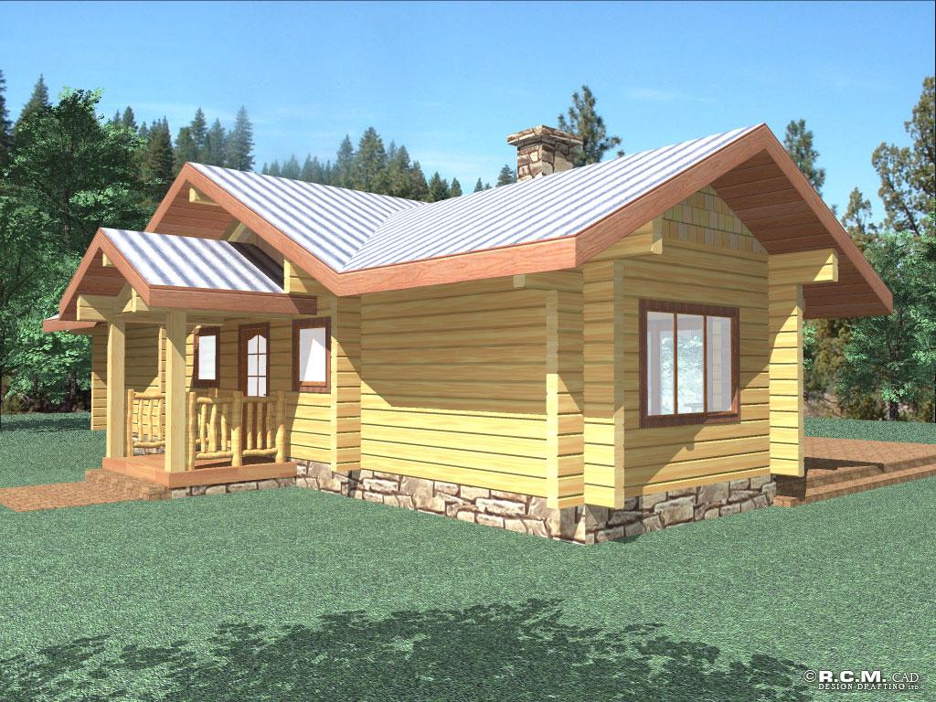the rancher log home styles rcm cad design drafting ltd