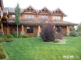 RCM Cad - Bronko - Log Home Finished Project