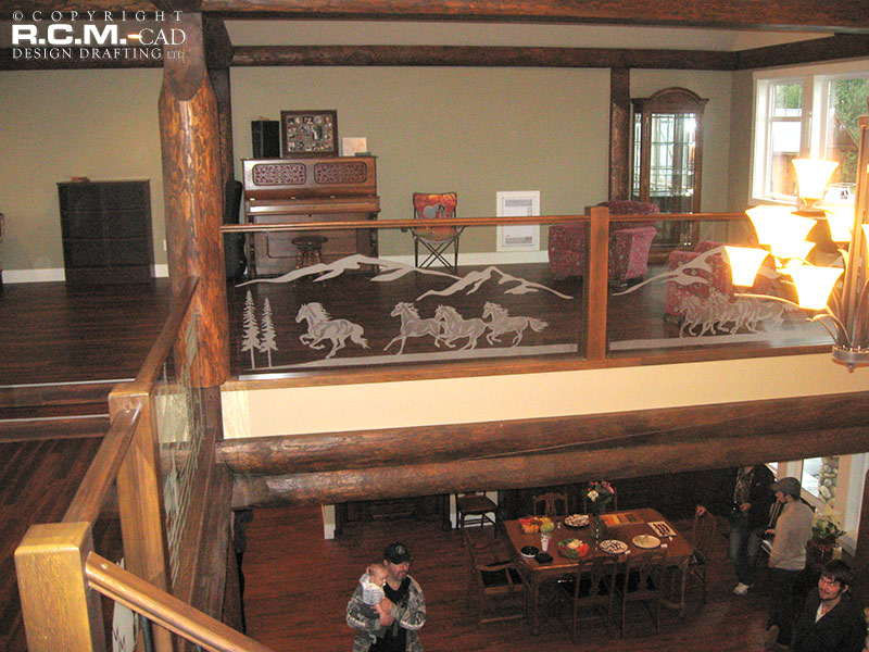 RCM Cad - Clearbrook - Log Home Finished Project