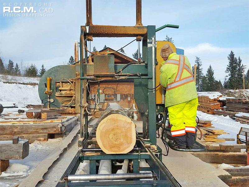 Post and beam construction saskatchewan rcm cad design for Post beam construction
