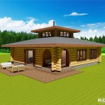 RCM Cad - Log Cabin - Varmdo - Sweden