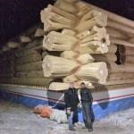 RCM Cad - Innisfail - Alberta - Massive Western Red Cedar Log Shell