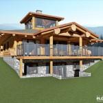 1620 sq. ft - Log Nest