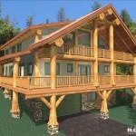 3,020 sq ft - Schwenningen Log Home - Design