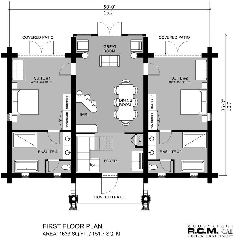 2763 sq. ft - Saipan Village Fourplex