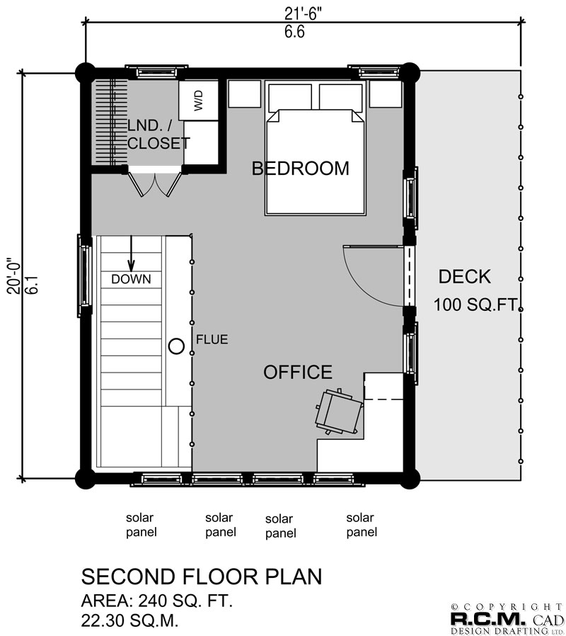500 to 1000 square feet r c m cad design drafting ltd for How much is 5000 square feet