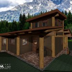 1438 sq ft – Cascade Post and Beam